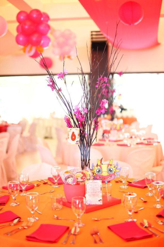 ni hao kai lan table set-up