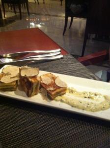 jw marriott - tuna sandwich in truffle mayo