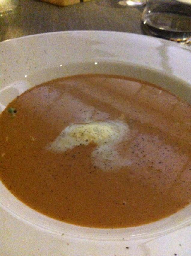 jw marriott - lobster bisque soup