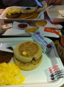 mickey D big breakfast