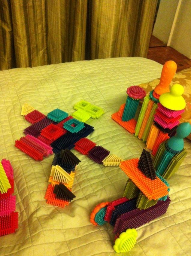 my 1st bristle blocks