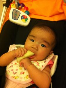 my all-natural teething aid :)