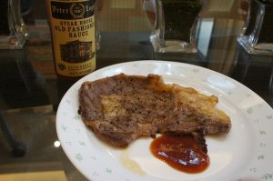 steak w/ peter luger sauce