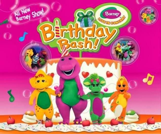 Barney's Bday Bash (pic stolen from Manila Concert Scene Blog)